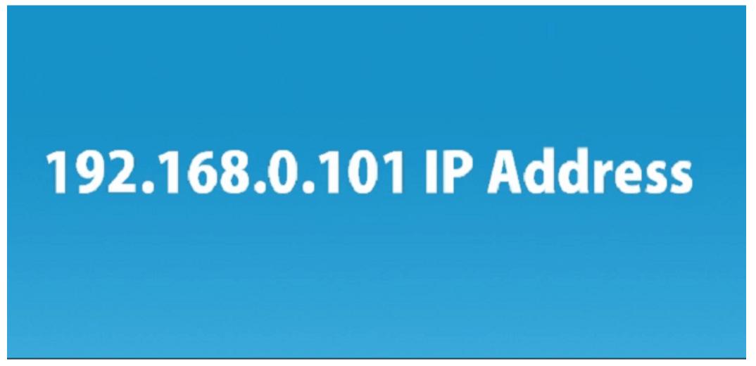 192.168.0.101 IP Address