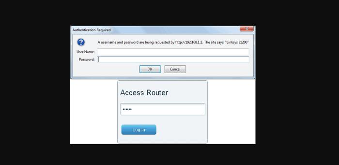 192.168.0.50 forgot username password