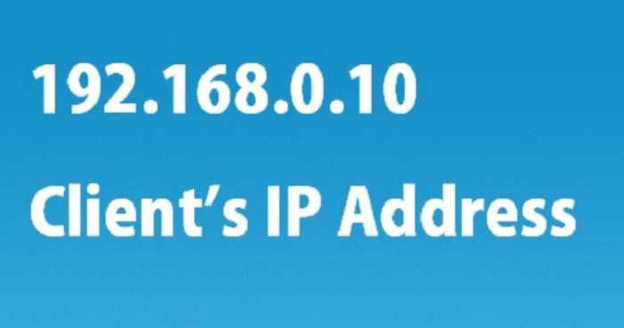 192.168.0.10