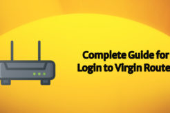 login to virgin router