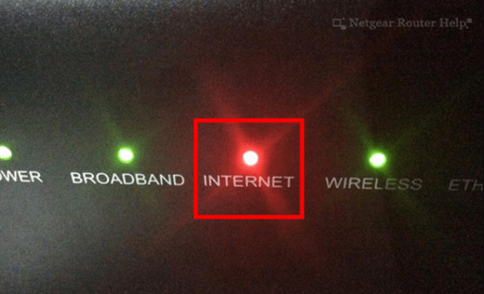 red light issue