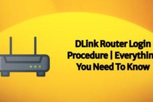 dlink router login